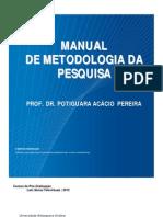 Manual Metodologia Da Pesquisa