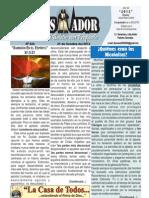"""2012-10-21 """"El Conquistador"""" Boletín semanal de La Casa de Todos"""
