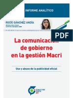 La Comunicación de gobierno en la gestión Macri