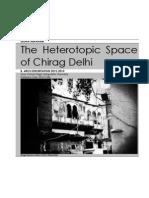 The Heterotopic Space of Chirag Delhi