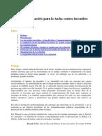 Manual de Formacion Para La Lucha Contra Incendios Forestales
