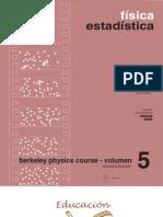 Berkeley Physics Course Vol 5 Fisica Estadsitica (Reif) 8429140255