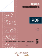 Berkeley Physics Course Vol 5 Fisica Estadsitica (Reif) 8429140255