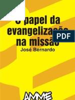 O Papel da Evangelização na Missão