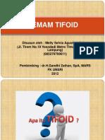 Demam Tifoid (Mellysa,s.ked)