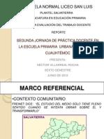SEGUNDA JORNADA DE PRÁCTICA DOCENTE