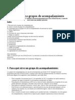 Manual para grupos de acompañamiento