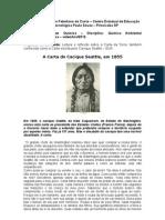 A Carta Do Cacique Seattle 1885