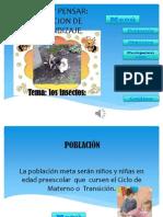 CREAR Y PENSAR - Situacion de Aprendizaje- Ma. Del Rosario Madriz
