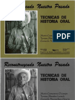 Técnicas de Historia Oral
