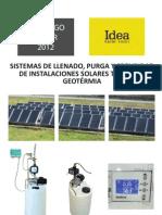 Llenado, Purga y Seguridad Solar