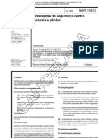 NBR 13435 - 1995 - Sinalizacao de Seguranca Contra Incendio E Panico - Norma Cancelada