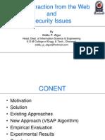 Data Mining on the Web(4)