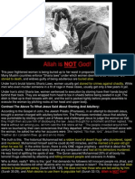 Allah is NOT God