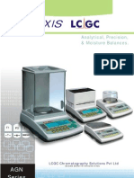 3. Axis LCGC Analytical, Precision & Moisture Balances