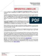 1441055 Tabla Comparativa LOMCE LOE