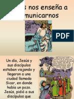 Jesús nos enseña a comunicarnos