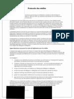 Canadian Federation of Students - Media Protocol - Protocole des médias