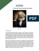 Texto PAU Marx