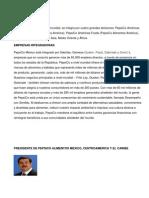 Proyecto de investigación de empresa agroalimentaria PEPSICO