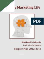Saint Joseph's University, 2012_2013 Chapter Plan Submission