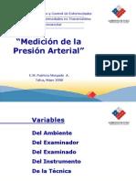 Medición de la Presión Arterial Talca Mayo 2008