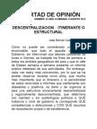 DESCENTRALIZACIONITINERANTE O ESTRUCTURAL