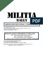 Akin Militia Rally Flier