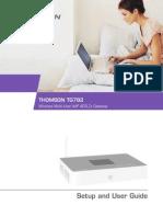 Manual Del Ususario Thomson TG 782
