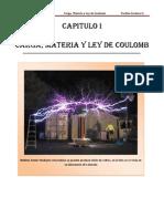 CARGA, MATERIA Y LEY DE COULOMB