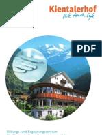 Kientalerhof Programm 2012