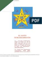 El Pentagrama Esoterico - El Santo Tetragrammaton