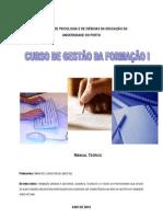 Manual de Gestão da Formação I 2010
