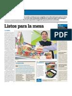 Negocio Comida Envasada Peru