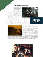 Why Blade Runner is Postmodern
