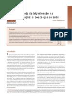 GRAVIDEZ E HIPERTENSÃO (MINISTÉRIO DA SAÚDE)