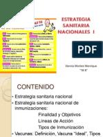Estrategia de Inmunizaciones