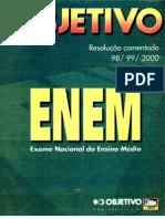 Resolução comentada Enem 1998