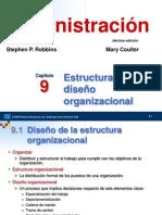 5 ROBBINS_Estructura y Diseño Organizacional