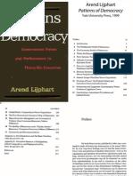 Patterns of Democracy Arend Lijphart