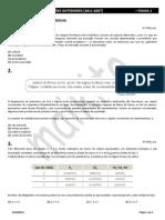 UERJ - COLETÂNEA DE QUESTÕES ANTERIORES (2011-2007) - FOLHA 1