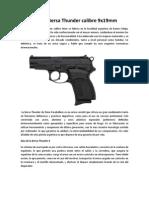 Pistola Bersa Thunder Calibre 9x19mm