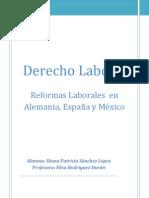 Derecho Laboral, Reformas
