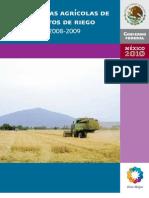 Estadísticas agrícolas  2008-2009