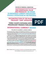 Fraudulent Finance Chart March 2009