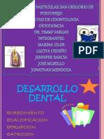 Desarrollo dentario