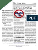 Supreme Court Dockets Income Tax Challenge