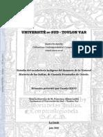 Coraly Oddo - MA Moire Master Recherche Civilisations F.albizA
