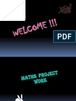 Maths Project Work [Autosaved]
