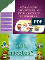 Pensamiento Creativo en Los Estudiantes de Preescolar